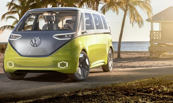 vw aims to plug into nostalgia with electric microbus Volkswagen Electric Bus