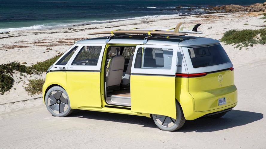 vw electric microbus will be made in germany from 2022 Electric Volkswagen Bus