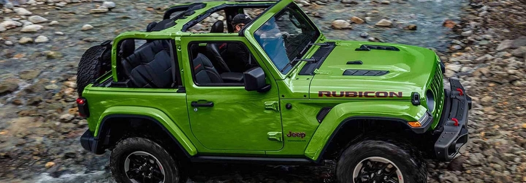 Jeep Wrangler Unlimited Rubicon Colors