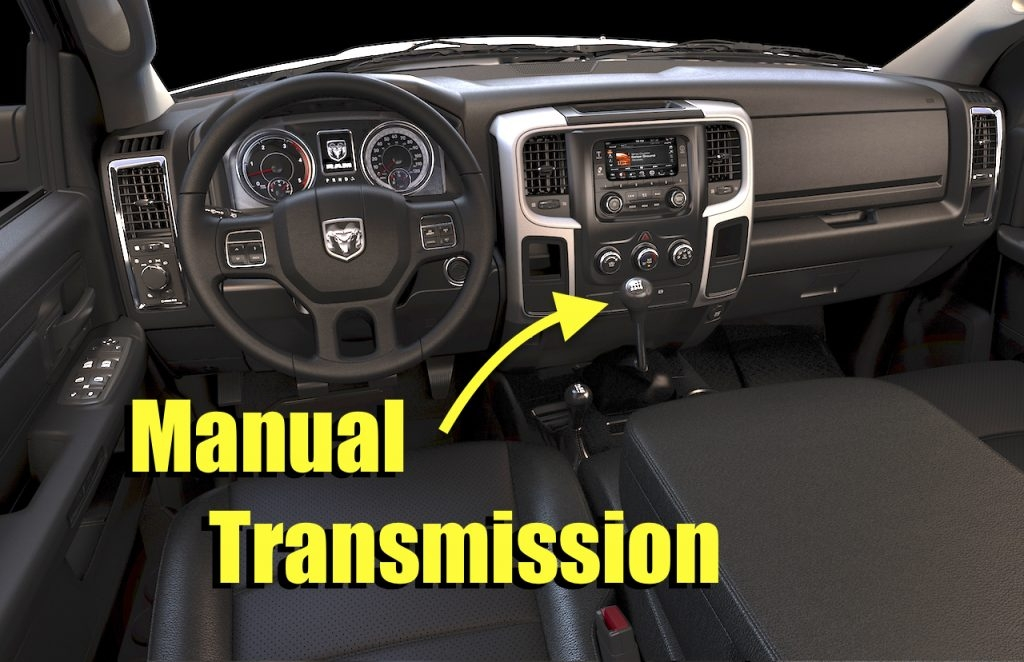why arent there more heavy duty pickups with manual Dodge Manual Transmission