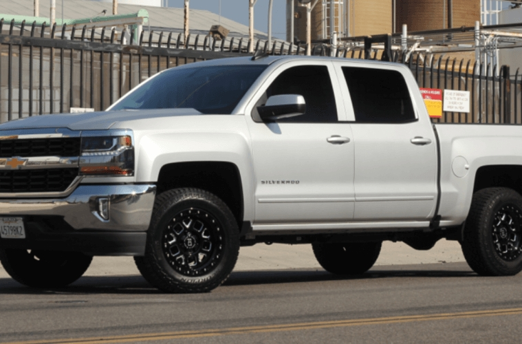 18 chevy silverado 3 inch front leveling kit installed Chevrolet Silverado Leveling Kit
