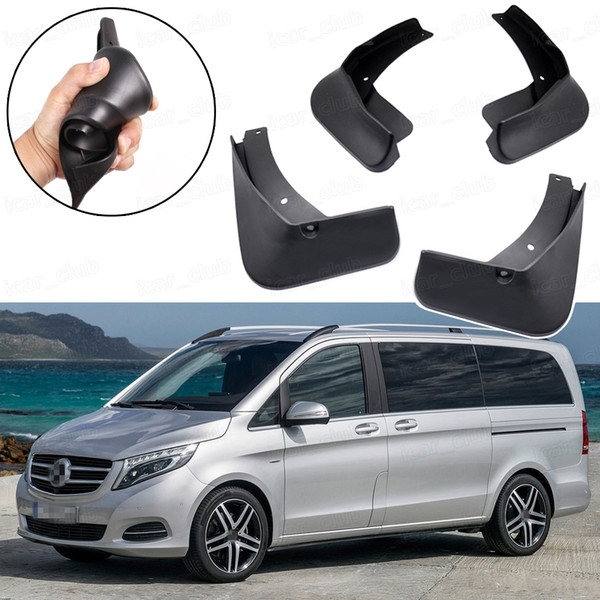 2020 car mud flaps splash guards fender mudguard fit for mercedes v class 2015 2016 2017 2018 2019 from icarclub 6042 dhgate Mercedes V Class Guard