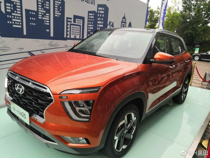 2020 hyundai creta spied in china sports a curvier look Upcoming Hyundai Creta