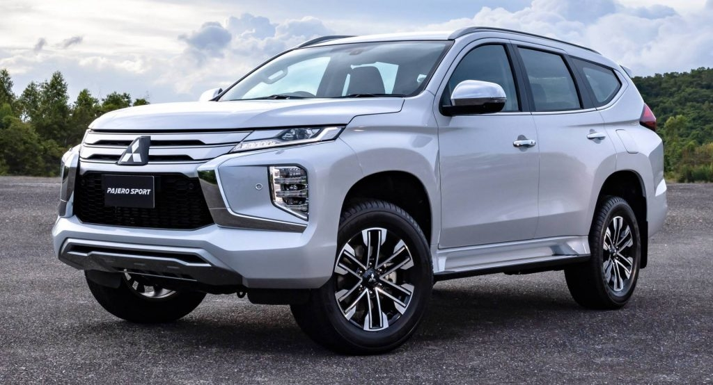 2020 mitsubishi pajero sport debuts with updated design new Mitsubishi Pajero Sport
