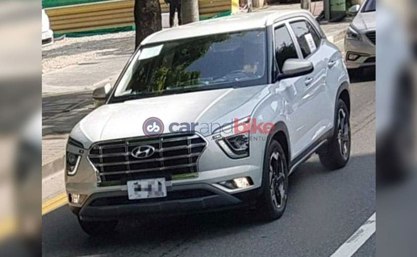 exclusive next gen hyundai creta spotted for the first time carandbike Upcoming Hyundai Creta
