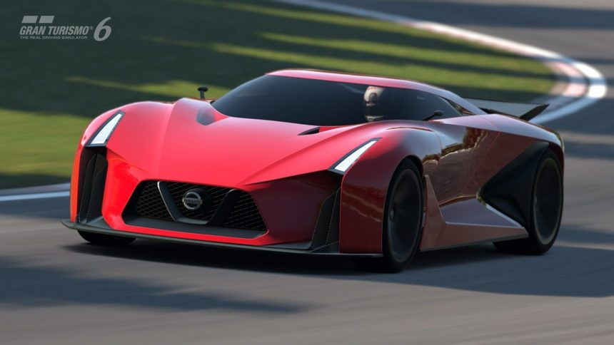 new video screenshots of nissan concept 2020 in gt6 Nissan Concept Gran Turismo