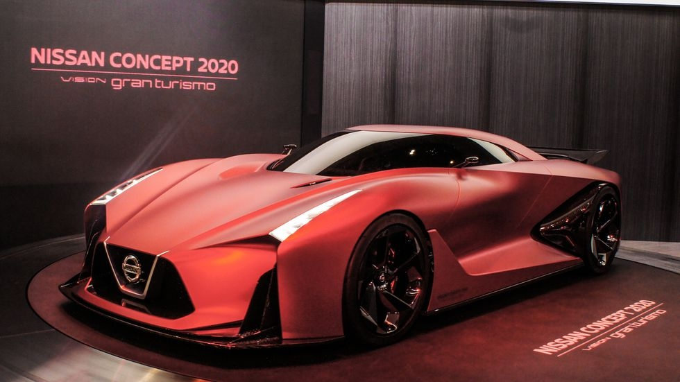 nissan brings gran turismo game to life with concept 2020 Nissan Concept Gran Turismo