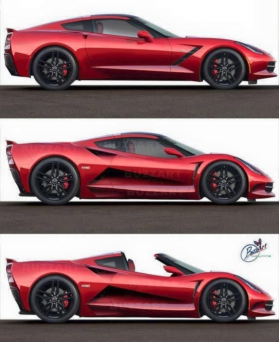 pic the c8 mid engine corvette zora zr1 rendered corvette Chevrolet Corvette Zora Zr1