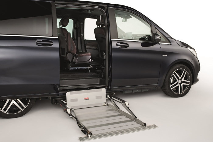 premiere at rehacare 2018 mercedes benz v class available Mercedes V Class Guard