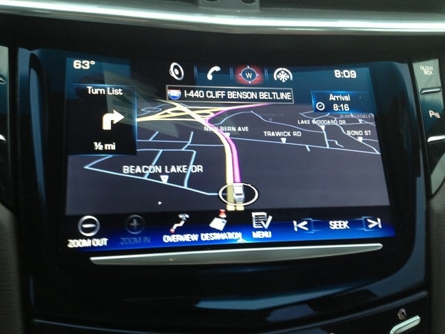 Cadillac Navigation System Map Update