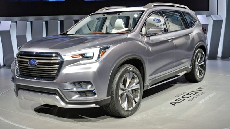 2019 subaru ascent pictures release date new york auto show Subaru Ascent Release Date