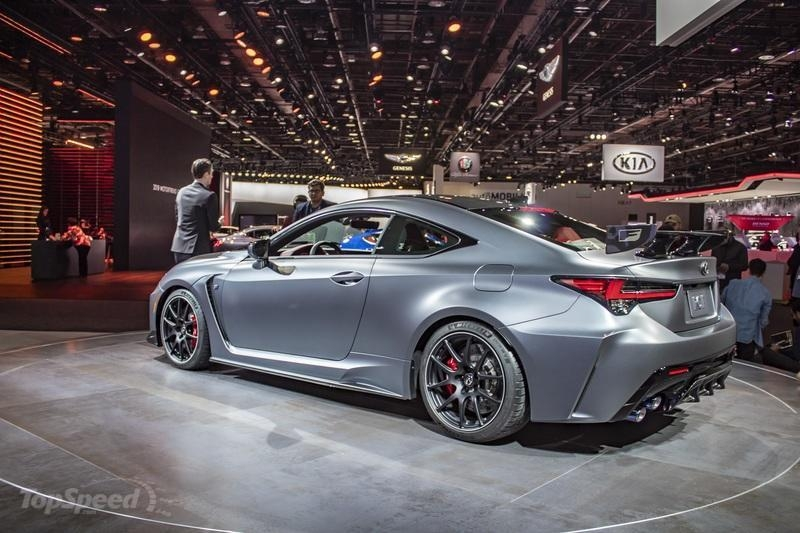 Lexus Rc F Track Edition 0-60