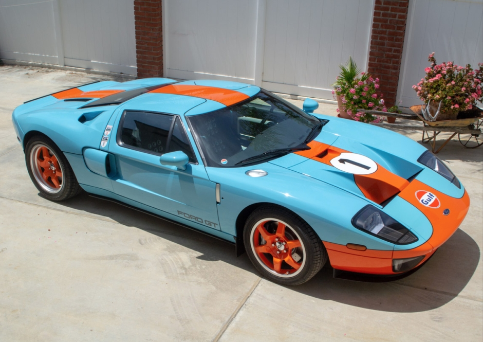 4k mile 2006 ford gt heritage edition Ford Gt Heritage Edition