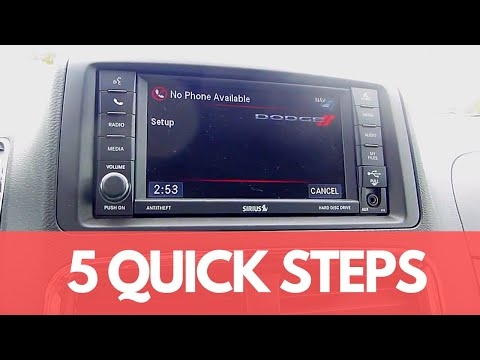 how to connect your phone via bluetooth to the dodge grand Dodge Grand Caravan Bluetooth
