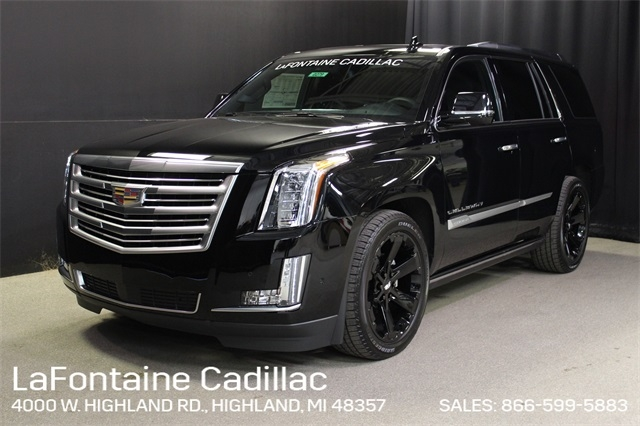 new 2019 cadillac escalade platinum callaway with navigation 4wd Cadillac Escalade Model