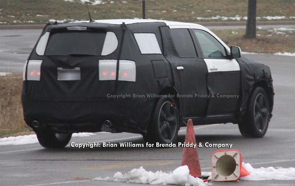 spy shots 2012 dodge durango replacement thedetroitbureau Dodge Durango Spy Photos