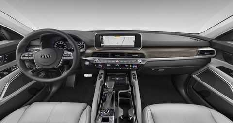 what exterior and interior color options are available for Kia Telluride Interior Colors