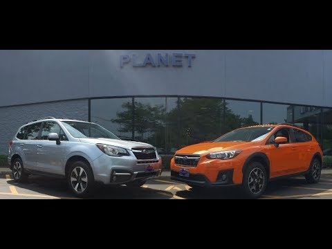 2018 forester vs 2018 crosstrek Subaru Forester 2018 Vs