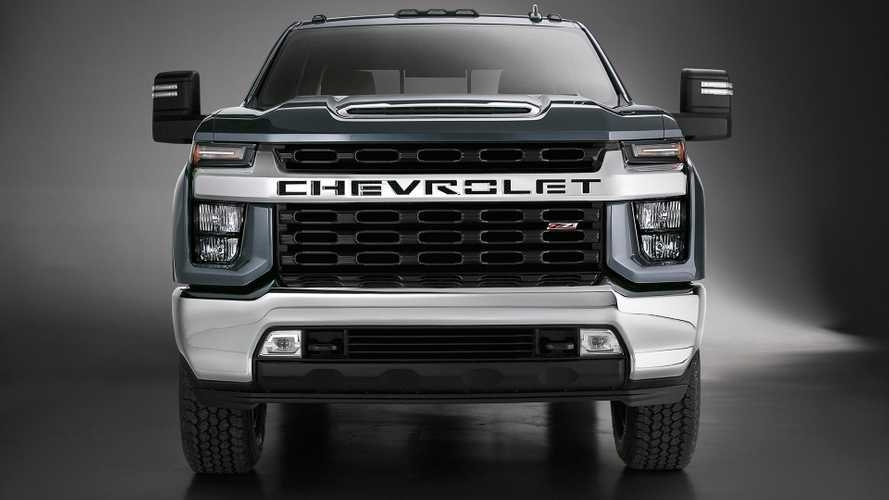 2020 chevy silverado hd unveiled getting new v8 and gearbox Chevrolet Unveils Silverado Pickup