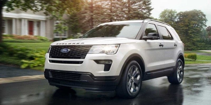 2020 ford explorer Ford Explorer Availability