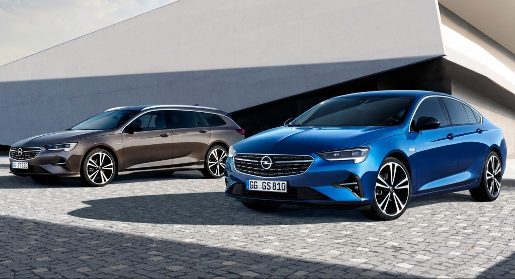 2020 opel and vauxhall insignia revealed with minor styling Opel Insignia Facelift