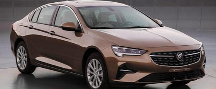 2020 opel insignia leaked as a buick regal in china Opel Insignia Facelift