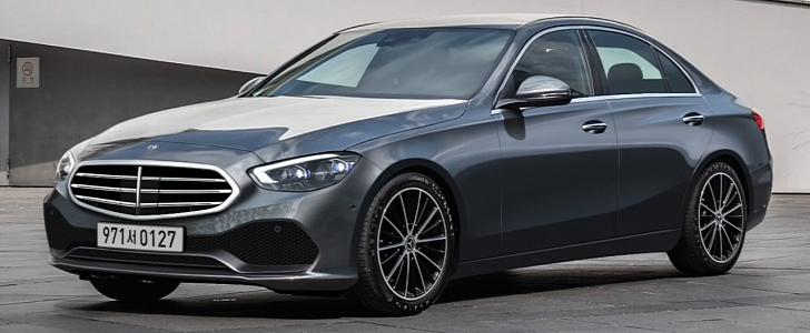 2021 mercedes benz c class accurately rendered looks Mercedes C Class Facelift