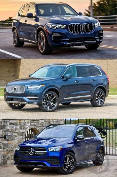 luxury suv showdown which would you put in your driveway Mercedes Gle Vs Volvo Xc90