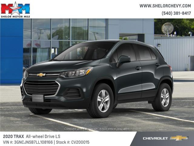 new 2020 chevrolet trax awd 4dr ls All New Chevrolet Trax