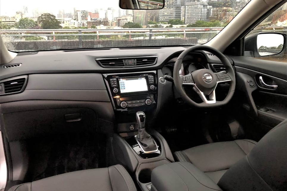 nissan x trail review for sale price colours interior Nissan X Trail Interior