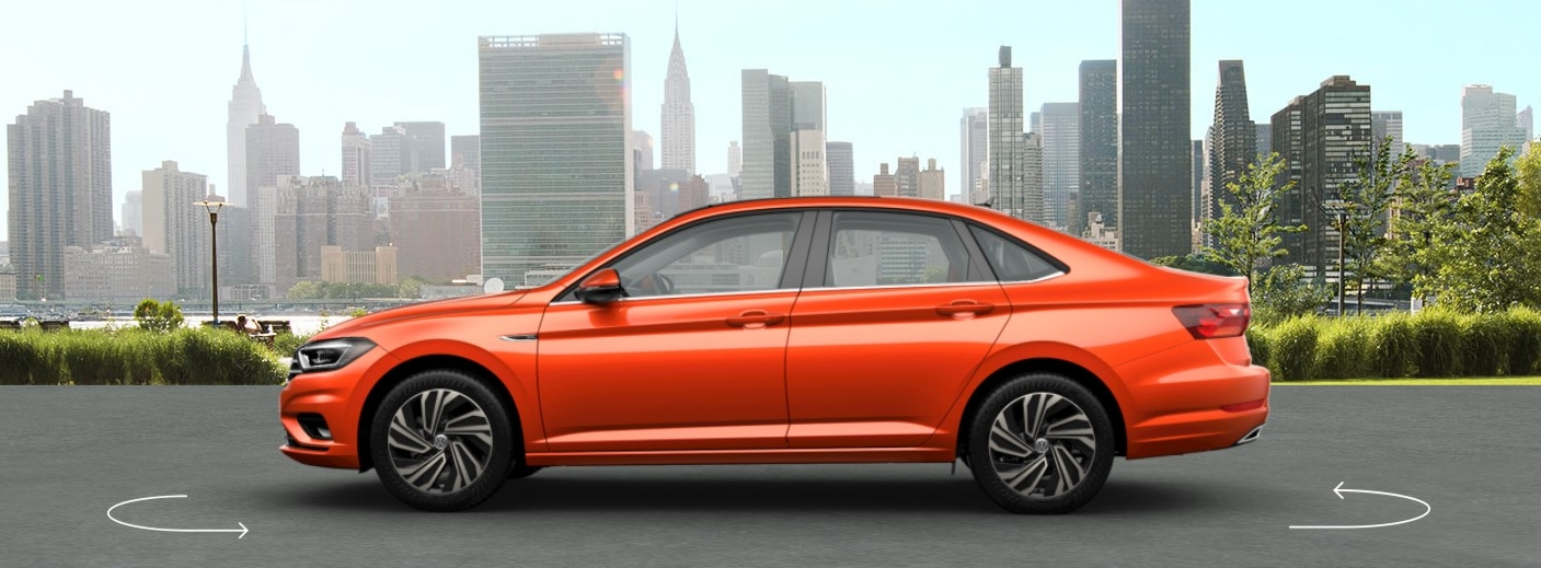 2019 vw jetta habanero orange metallic exterior 1o folsom Orange Volkswagen Jetta