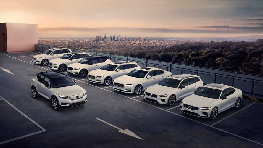 2020 volvo phev lineup shows no or just a little epa ev Volvo Lineup 2020