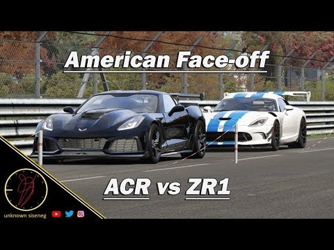 Corvette Zr1 Vs Dodge Viper Acr