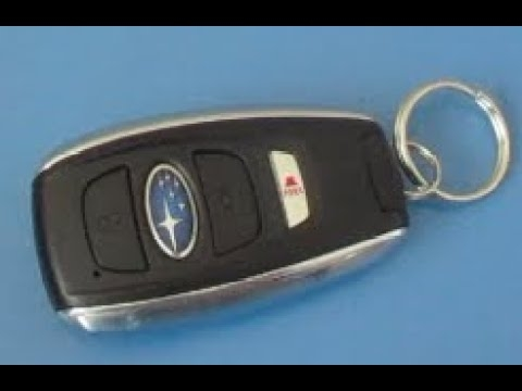 how to replace key fob battery subaru forester 2014 2015 2016 2017 2018 2019 2020 replacing battery Subaru Key Fob Battery