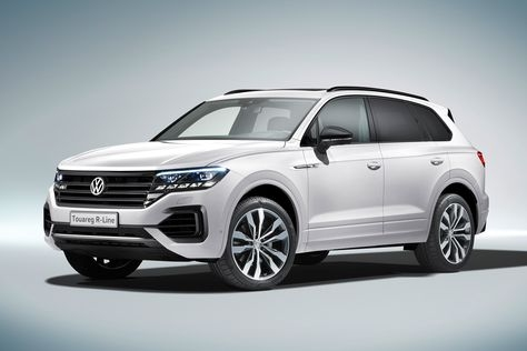 third generation of volkswagens touareg flagship suv is Giá Xe Volkswagen Touareg