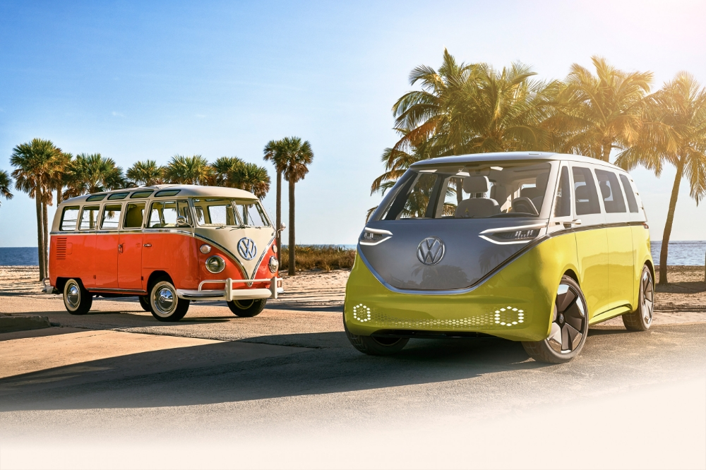 volkswagen hippie van 2020 interior vw electric car Volkswagen Hippie Van 2020