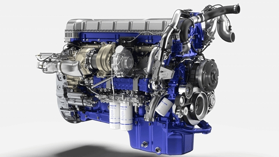 volvo trucks introduces enhanced turbo compound engine in Volvo Engines 2020