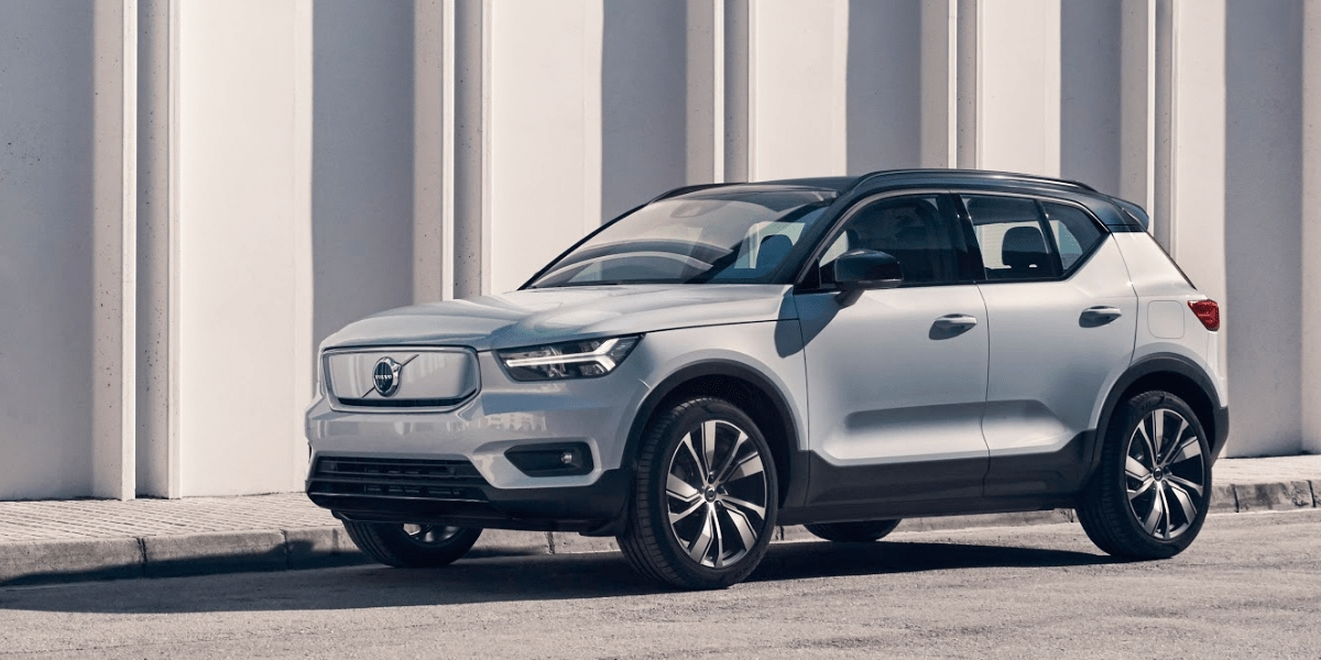 volvo xc40 recharge volvos first fully electric car Volvo Electric 2020