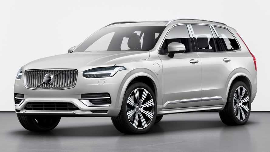 volvo xc90 facelift unveiled with kers for better fuel Volvo Xc90 Model Year 2020