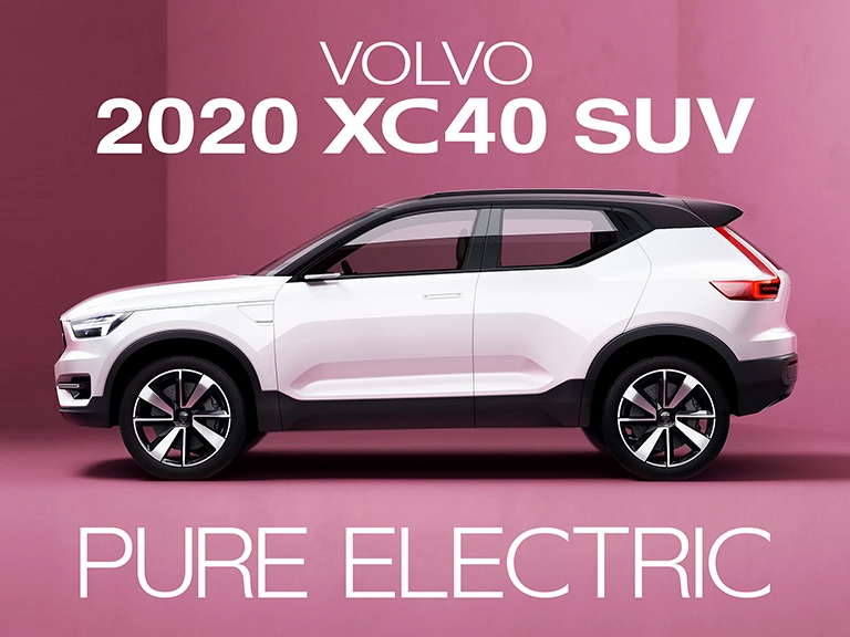 volvos popular xc40 suv will offer an affordable pure Volvo Electric 2020