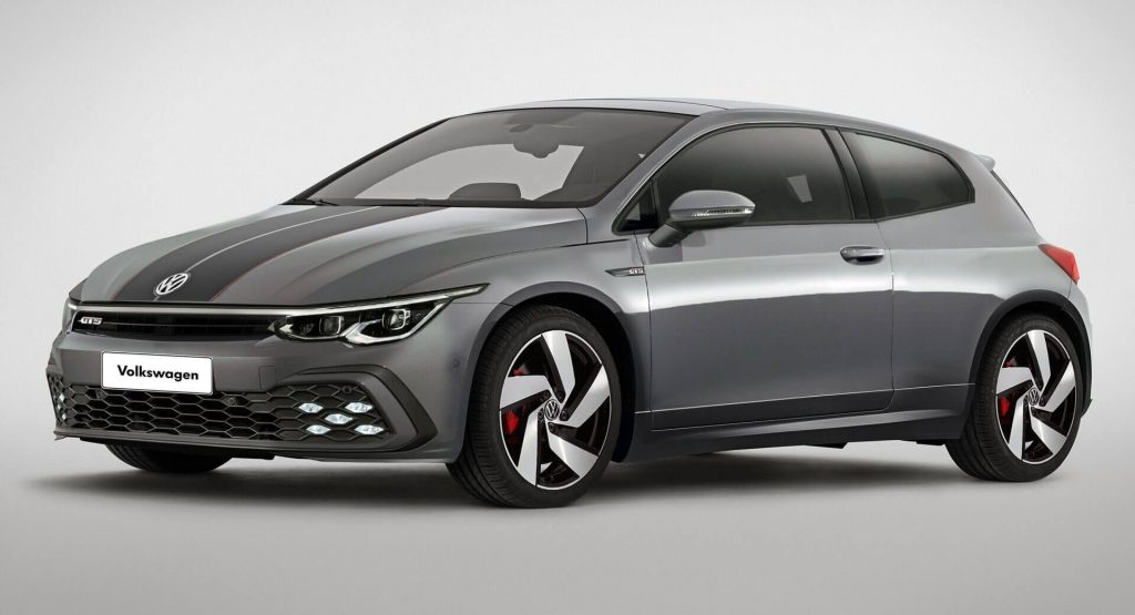 what if vw gave the scirocco a 2021 golf mk8 inspired Volkswagen Scirocco 2020
