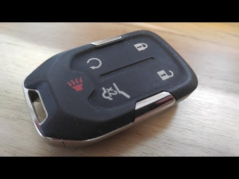 2019 2020 gmc sierra key fob battery replacement easy 2020 Gmc Key Fob Battery Replacement Release Date