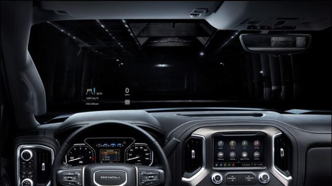 2019 gmc sierra 1500 overview review video tailgate and 2020 Gmc Sierra Heads Up Display Interior