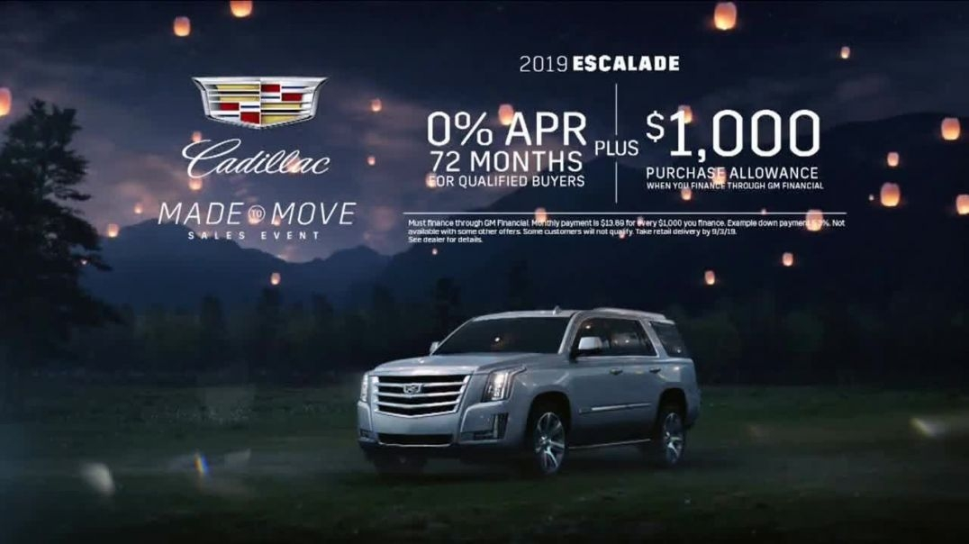 Best cadillac made to move sales event tv commercial ad made for Cadillac Made To Move Commercial Song 2020 Engine