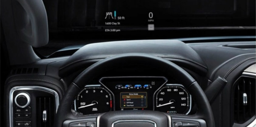 Best nsg to provide hud technology to 2019 gmc sierra and 2020 Gmc Sierra Heads Up Display Configurations