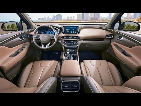hyundai santa fe 2020 interior 2020 Hyundai Santa Fe Interior Specifications