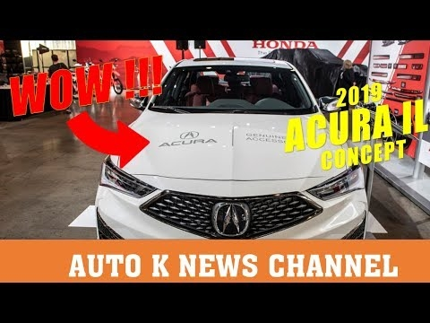 Interesting 2019 acura ilx concept youtube Acura Freshens Cuts Price On Olx For 2020 Research New