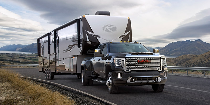 Interesting 2020 gmc sierra hd shows off new look towing tech Gmc Hints At Face Of 2020 Sierra Specifications