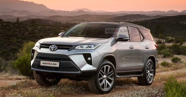 Interesting flawless new toyota fortuner facelift renderings leave Toyota Fortuner 2020 Facelift Overview