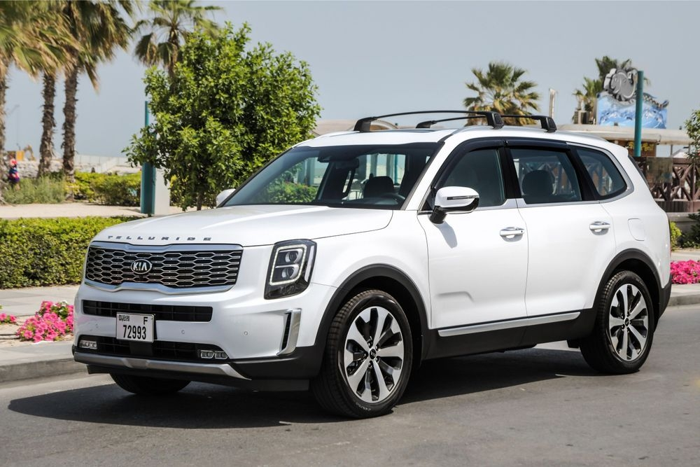 New 2020 kia telluride makes middle east debut qatar yallamotor 2020 Kia Telluride Price Qatar New Concept